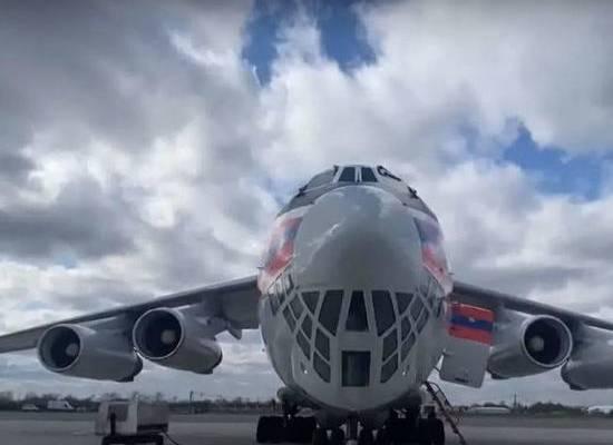 Россия направила в Индию второй самолет МЧС с гуманитарным грузом