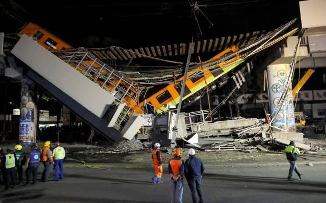 Генпрокуратура Мексики расследует обрушение метромоста