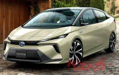 Каким будет следующее поколение Toyota Prius: новые рисунки