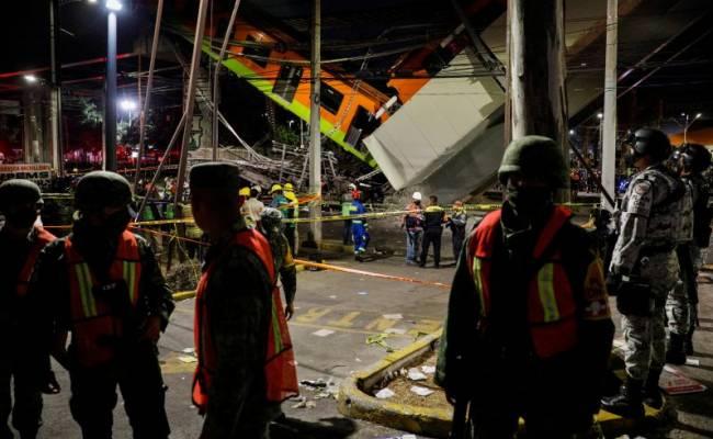 Власти озвучили причину обрушения метромоста в Мехико