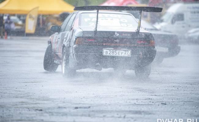 В Хабаровске состоялся первый этап летних соревнований по дрифту