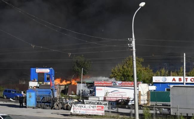 В Новосибирске после пожара на АЗС задержали директора