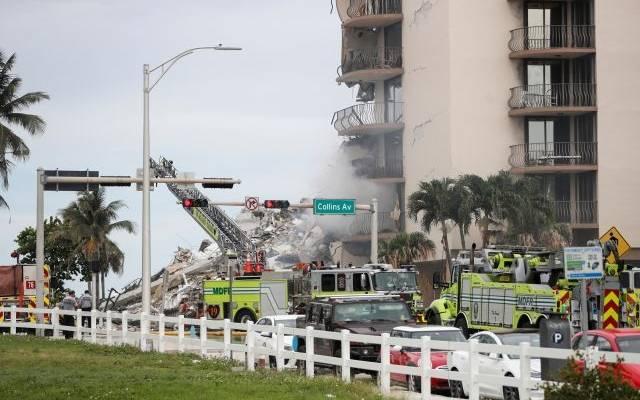 Байден объявил режим ЧС во Флориде из-за обрушения многоэтажки