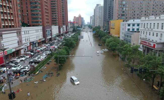 В результате наводнения в КНР погибли 33 человека