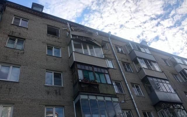 Взрыв бытового газа произошел в многоэтажке в Барнауле
