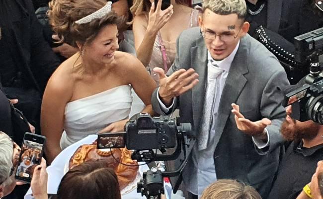 Блогер Джарахов устроил драку на свадьбе Моргенштерна