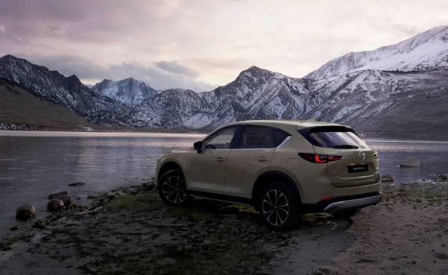 Mazda CX-5 подвергли рестайлингу: ФОТО