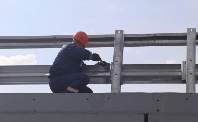 В Барнауле завершается ремонт Старого моста через Обь