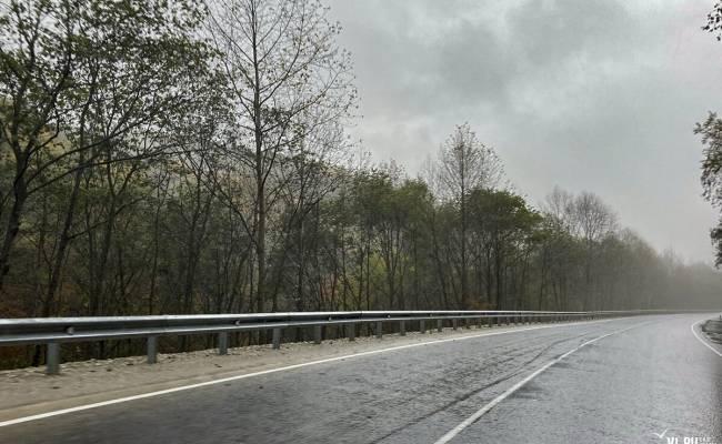 Приморские дорожники почти полностью отремонтировали трассу от Шкотово до Партизанска