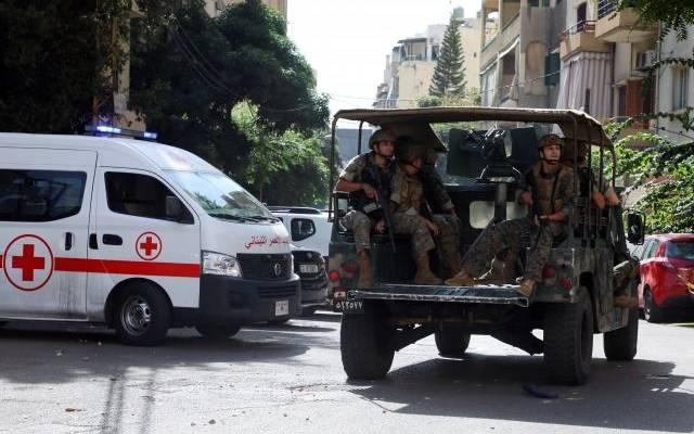 Армия Ливана стягивает бронетехнику к месту перестрелки в Бейруте