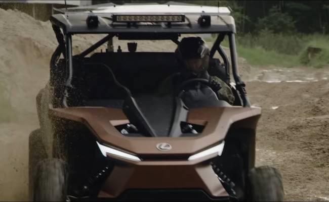Lexus разработал багги с водородным двигателем внутреннего сгорания